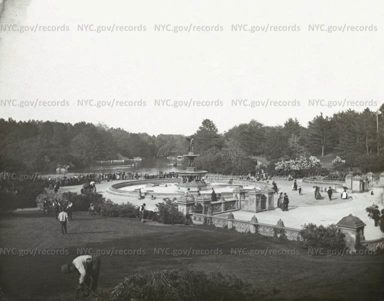 Central Park - Bethesda Fountain and Terrace