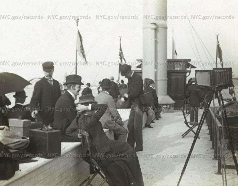 """""""On board S.S. Orinoco [sic] to Bermuda"""""""