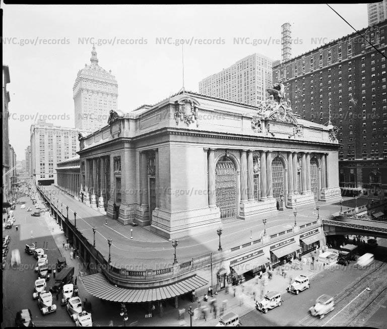Grand Central Terminal, East 42nd Street and Vanderbilt Avenue, New York City