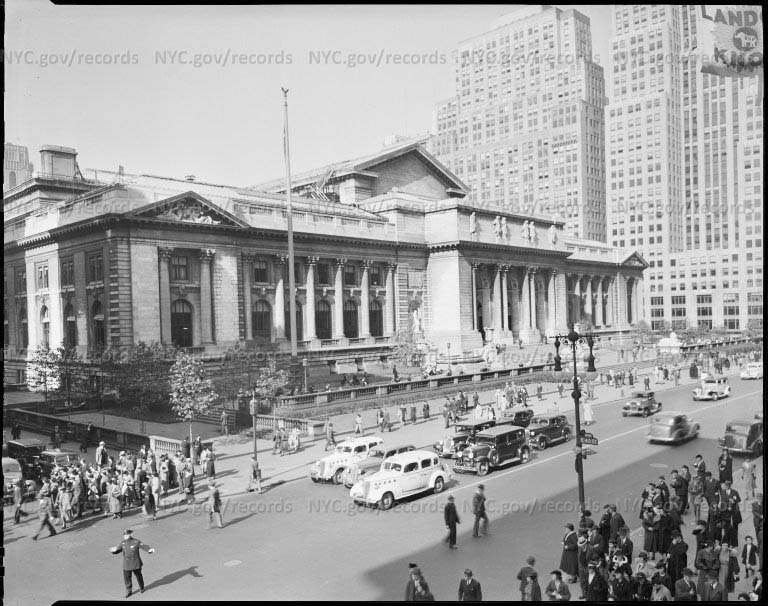 Library: 42nd Street and 5th Avenue