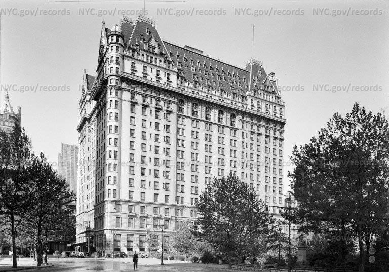 Hotel Plaza, 5 Avenue at 59th Street, New York City.