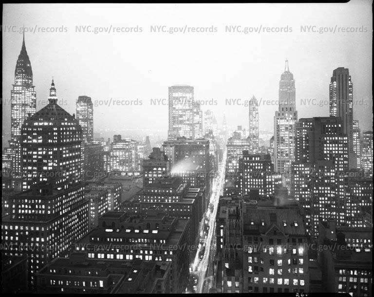 Night View Midtown Manhattan