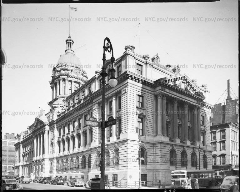 Police Headquarters of New York City, Center & Grand Streets