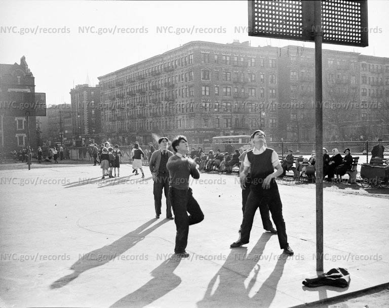 Playground - Basketball, 68th Street and 1st Avenue, New York City