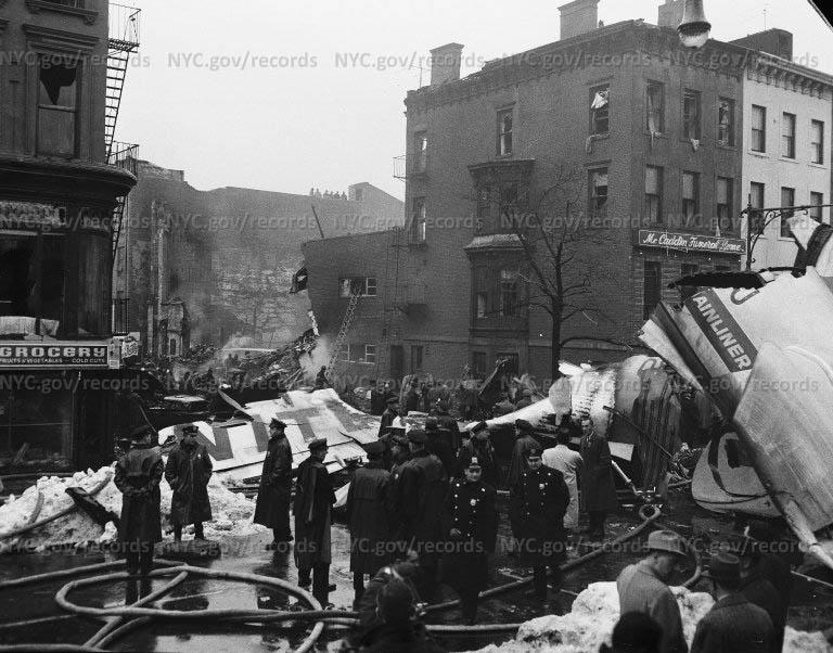 Brooklyn plane crash