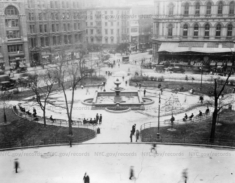 City Hall Park Fountain, Manhattan