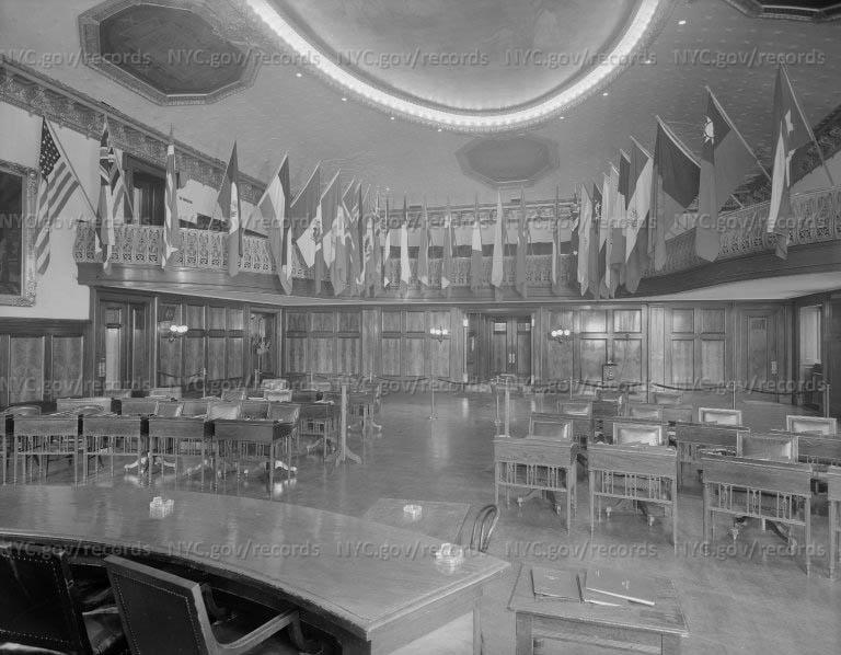 City Hall Council Chamber, Manhattan