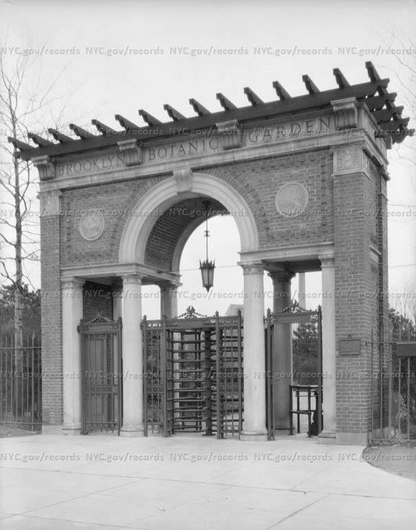 Brooklyn Botanical Garden Gate, Brooklyn