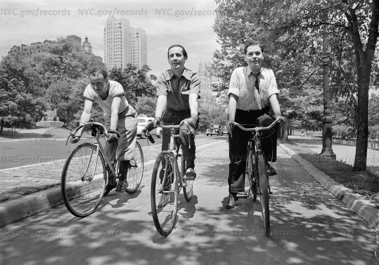 Central Park, 56-57 Street, bicycling