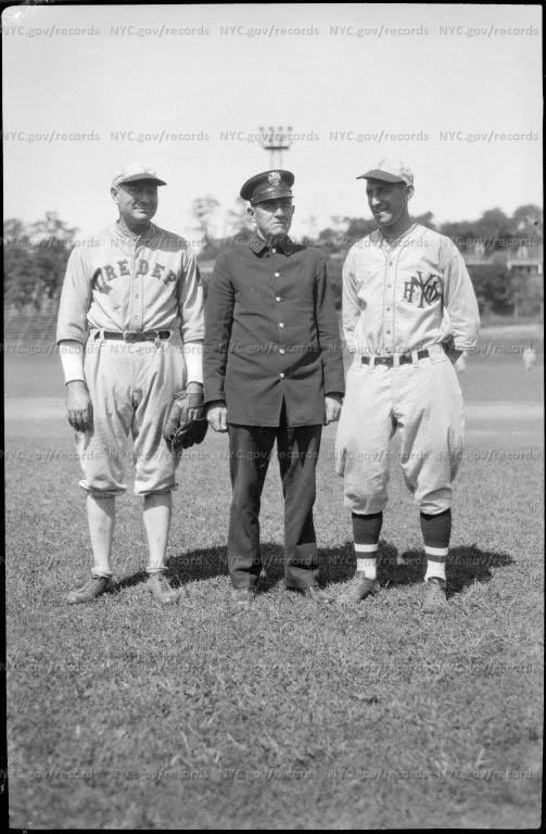 Members Fire Department baseball team