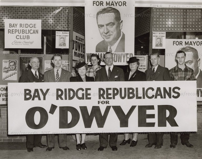 """Bay Ridge Republicans for O'Dwyer"""